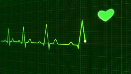 電子機器で見る脈拍