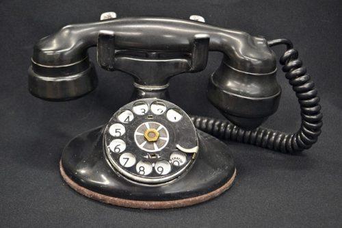 オールド黒電話