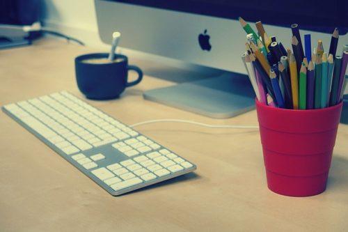 iMacのある事務所
