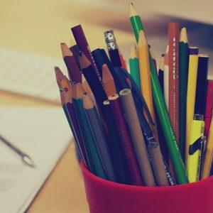 登記のための筆記用具