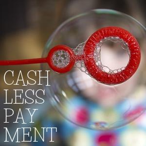 Cash less pay ment